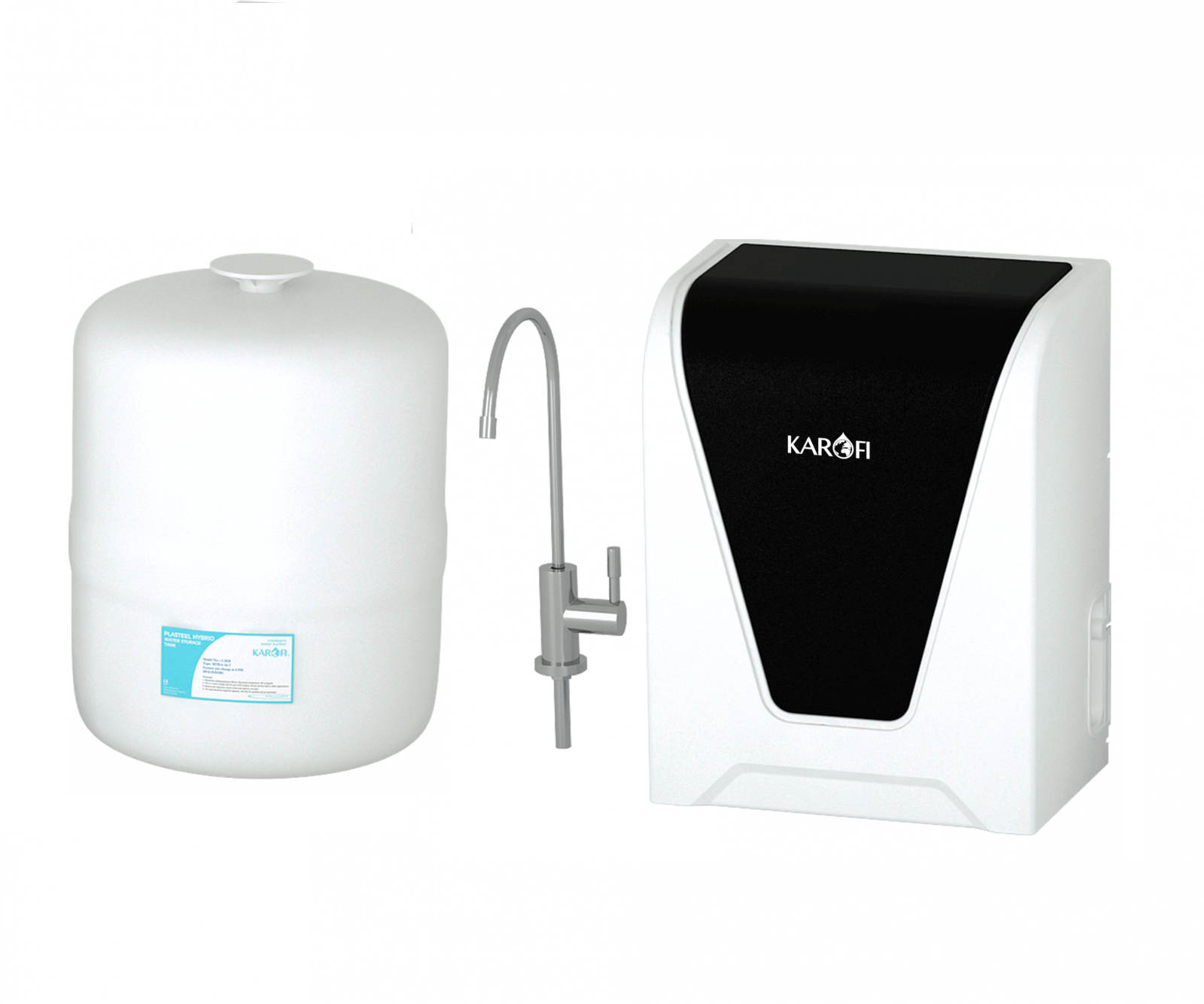 Máy lọc nước để gầm chậu Karofi Spido S-s027