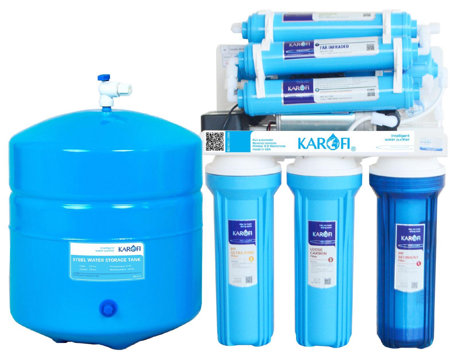 Máy lọc nước Karofi ERO