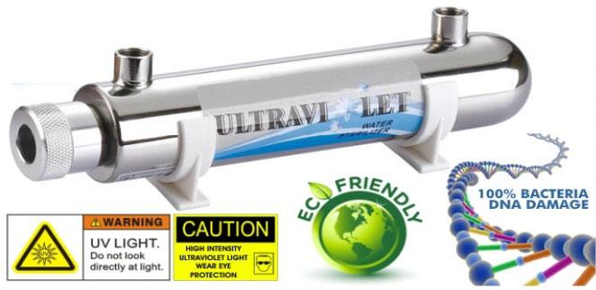 Đèn UV trong máy lọc nước