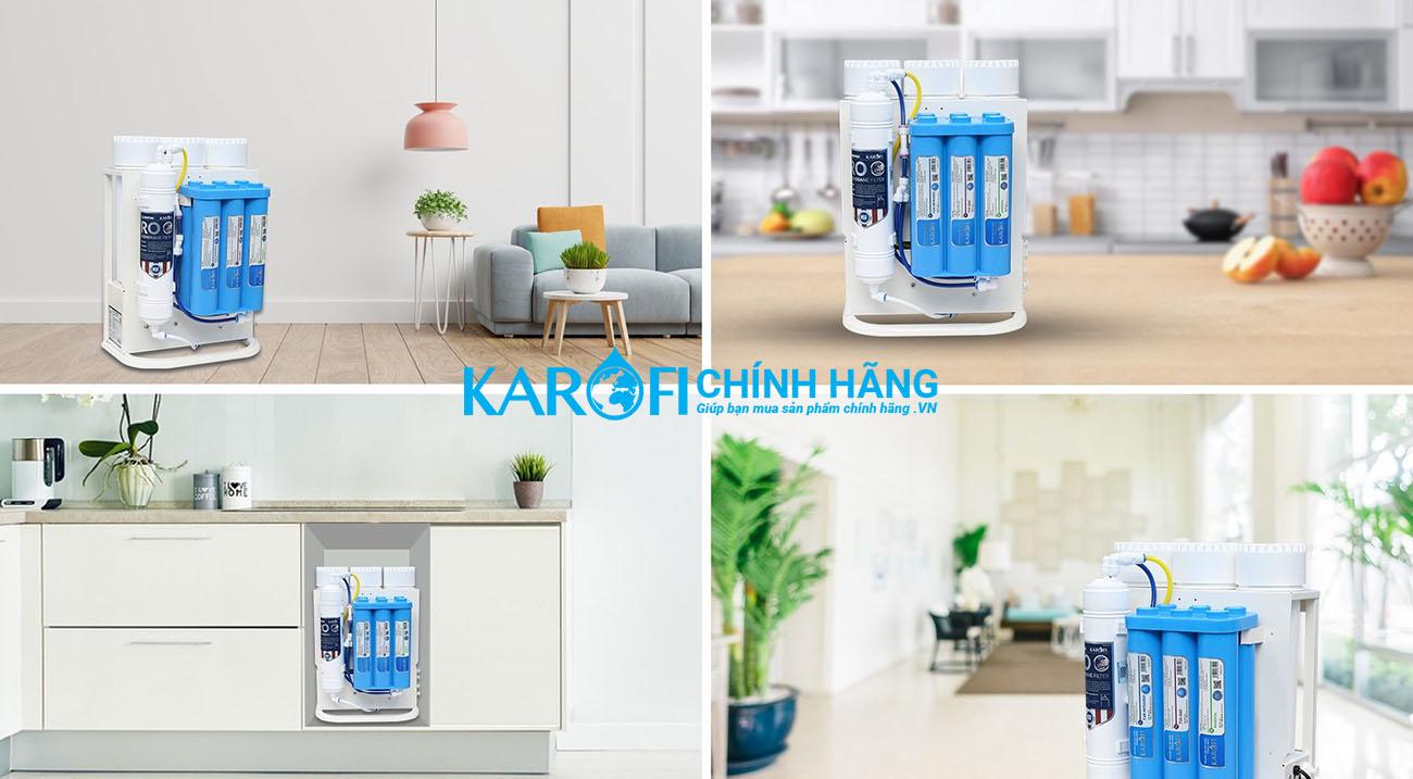 Máy lọc nước Karofi KAQ-U05 - 10 cấp lọc - nhỏ gọn